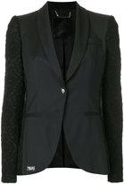 Philipp Plein contrast sleeve blazer