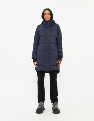 Canada Goose Women's Alliston Coat in Navy, Size Small | Fleece