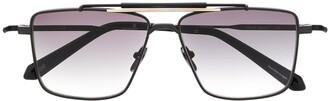 Eque.M Shave square frame sunglasses