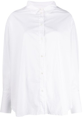 Kristensen Du Nord Frayed Boxy Shirt