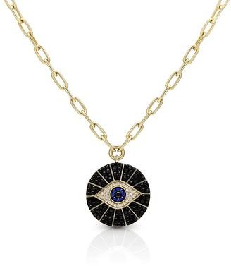 Anne Sisteron Evil Eye Pendant