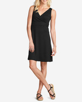 Eddie Bauer Women's Aster Crossover Dress - Solid