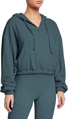 Alo Yoga Stadium 1/2-Zip Hoodie Sweatshirt