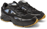 Raf Simons adidas Originals Ozweego Bunny Rubber, Mesh and Leather Sneakers