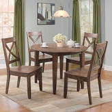 Asstd National Brand Dining Possiblities 3-Piece Dining with X-Back Chair