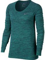 Nike Dri-Fit Knit Shirt - Long-Sleeve
