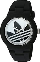 adidas Women's 'Aberdeen' Quartz Plastic and Silicone Automatic Watch, Color:Black (Model: ADH3119)
