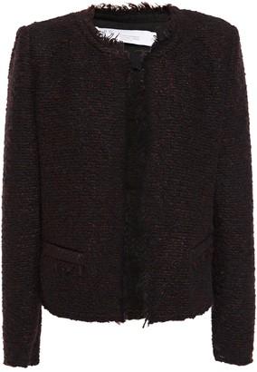 IRO Frayed Boucle-knit Jacket