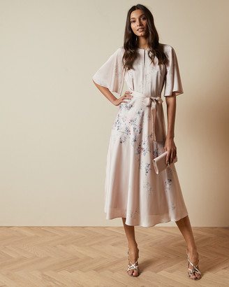 Ted Baker ERLA Bouquet midi dress