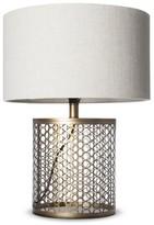 J. Hunt Open Metal Circle Pattern Table Lamp