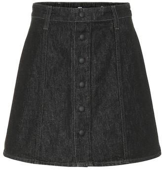 AG Jeans Kety denim miniskirt