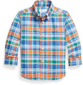 Ralph Lauren Plaid Performance Poplin Shirt