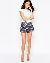 Oh My Love Scuba Shorts in Life Print