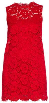 Dolce & Gabbana Sleeveless Lace Sheath Dress