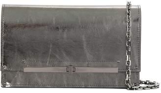 Casadei metallic crossbody bag