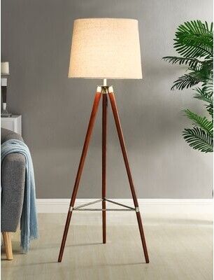 Foundry Select Wilhite 59'' Tripod Floor Lamp