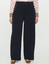 ELOQUII Plus Size Button Detail Trouser