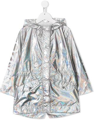 Kenzo Kids Iridescent Hooded Jacket