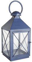 Pier 1 Imports Bennett Lantern - Navy Small