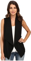 Heather French Terry Panel Vest