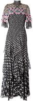 Peter Pilotto tiered crochet overlay dress