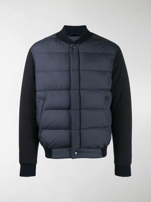Salvatore Ferragamo Padded Panels Jacket