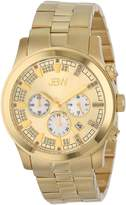 "JBW Men's JB-6218-E ""Delano"" Gold-Tone Chronograph Diamond Watch"