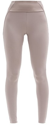 Vaara Kari Panelled Stretch-jersey Leggings - Light Brown