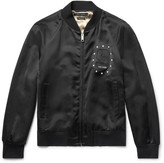 Marc Jacobs - Embellished Satin Bomber Jacket