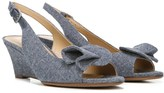 Naturalizer Women's Tinna Narrow/Medium/Wide Wedge Sandal