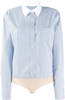 Alexander Wang micro stripe shirt body