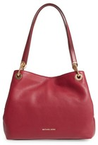 MICHAEL Michael Kors Large Raven Leather Tote - Red