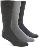 Calvin Klein Cotton Blend Socks (Assorted 3-Pack)