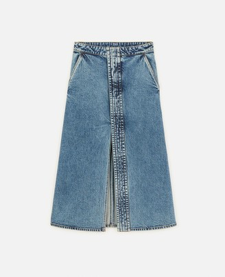 Stella McCartney Vintage Denim Skirt, Women's