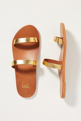 beek Tweety Bird Slide Sandals By in Gold Size 6