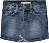 Levi's Denim Skirt with Contrast Pocket