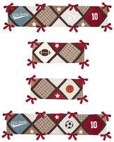JoJo Designs Sweet All Star Sports Collection Crib Bumper