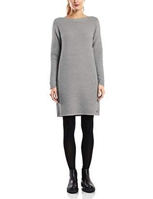 Cecil Women's's 142283 Dress, (Mineral Grey Melange 10327), Medium