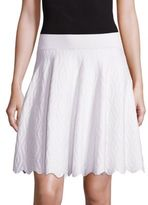 Jonathan Simkhai Diamond Flared Skirt