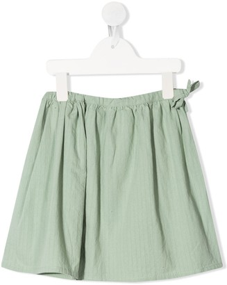 Longlivethequeen Side-Tied Mini Skirt
