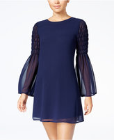 Speechless Juniors' Bell-Sleeve Dress