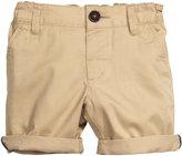 H&M Cotton Twill Shorts - Beige - Kids