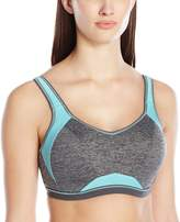 Freya Women's Epic Underwire Crop Top Sports Bra with Molded Inner