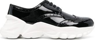 Comme des Garcons Brogue Detailing Sneakers