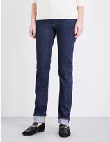 Closed Unit straight-leg high-rise jeans