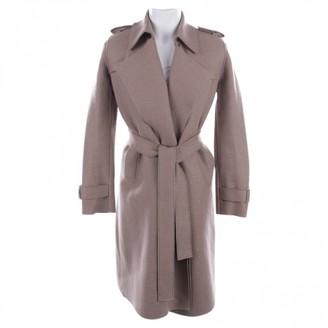 Harris Wharf London Beige Wool Coats