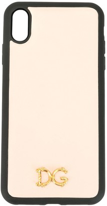 Dolce & Gabbana logo iPhone XS case