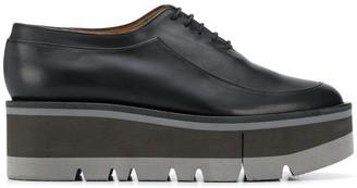 Clergerie Brew lace-up platform shoes