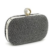 Beauty Gorgeous Luxury Diamond Woman Evening Bag Crystal Lady Clutch Party Bag Shining Rhinestone Bridal Bag