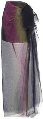 Maticevski Floradora tulle maxi skirt